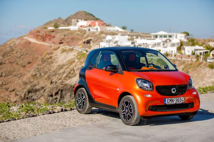 #Smart #Mercedes #CarRental #Santorini
