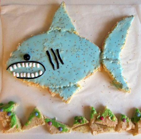 gateau requin 10/07