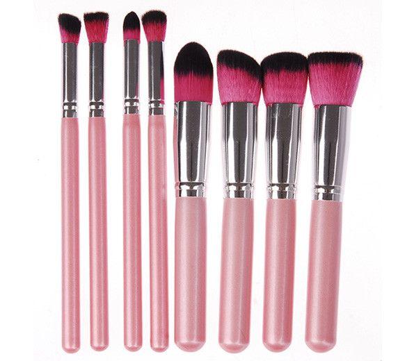 FlyQueens 8 Piece Makeup Brush Set