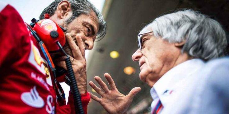Maurizio Arrivabene: lavorare in Ferrari è un sogno. Il manager della Ferrari commenta, un po' a scoppio ritardato, le affermazioni critiche di Ecclestone sulla gestione della Scuderia di Maranello. Giorni fa Ecclestone aveva avuto modo di attaccare p #f1 #ferrari #arrivabene #ecclestone