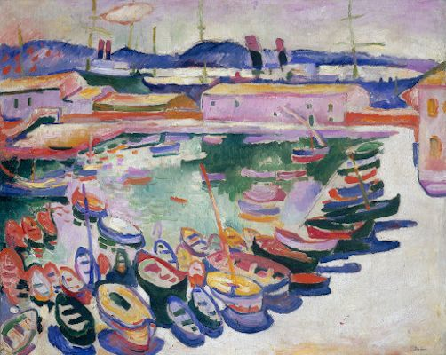 Port de La Ciotat (II) - Fauvisme (1907)                                                                                                                                                                                 Plus
