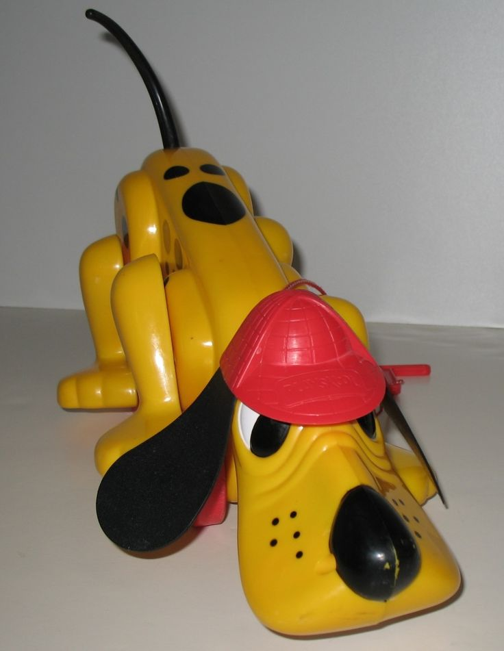 "Remember Playskool's Digger the Dog? The vintage commercial was uber-cute and featured this catchy jingle: ""Digger the dog, digging he goes with you when you explore, just pull his leash and go for a walk, he's your dog for sure!""  #vintagetoys #digger #playskool"