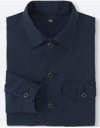 Uniqlo Men's Military Long-Sleeve Shirt for $15  $5 s&h #LavaHot http://www.lavahotdeals.com/us/cheap/uniqlo-mens-military-long-sleeve-shirt-15-5/195323?utm_source=pinterest&utm_medium=rss&utm_campaign=at_lavahotdealsus