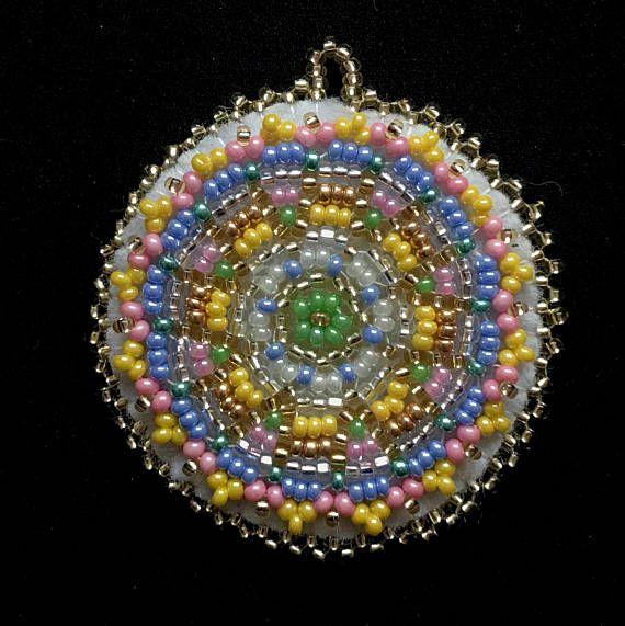 10 besten Beaded Mandalas Bilder auf Pinterest | Perlenschmuck ...
