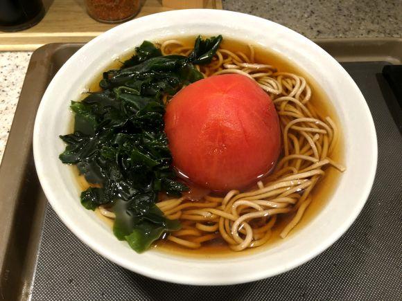 """""""Tomato-Soba"""" 丸ごとトマトそば"""