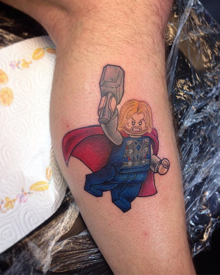 Lego thor done few days ago at @ink187uk for appointment please get in touch !!! #icarotattoo #dudatattoofamily #legotattoo #legofan #legothor #thor #tattoo #tatuaguem #tatuaggio #inked #ink #tattoo  #uk #london #inked