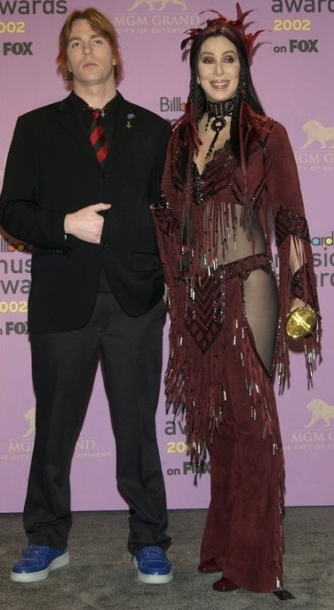 Singer CHER & son ELIJAH BLUE ALLMAN
