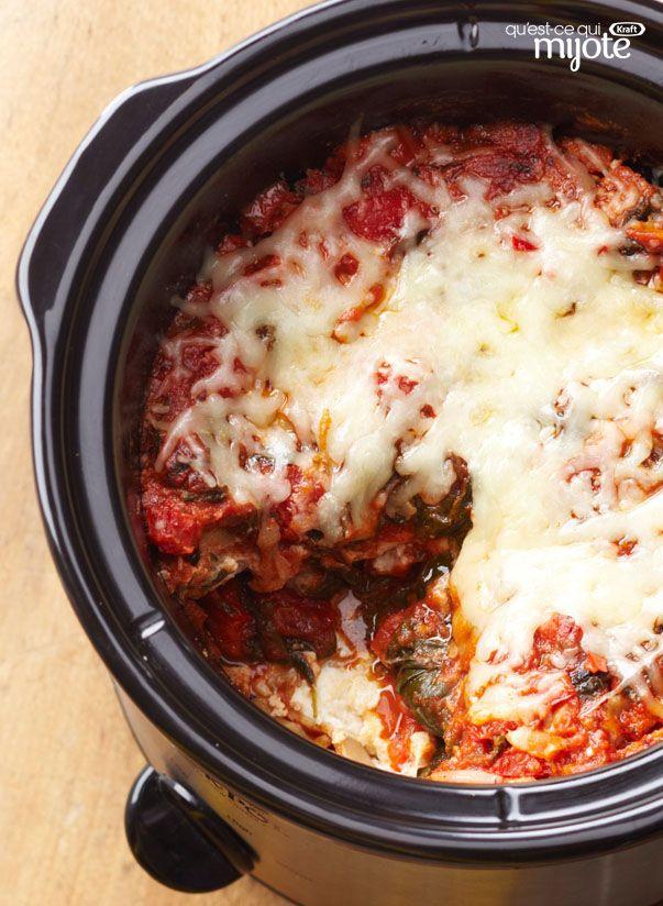 Lasagne aux légumes à la mijoteuse #recette