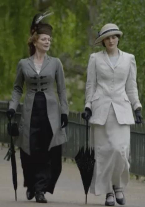 Downton Abbey sartorial splendor