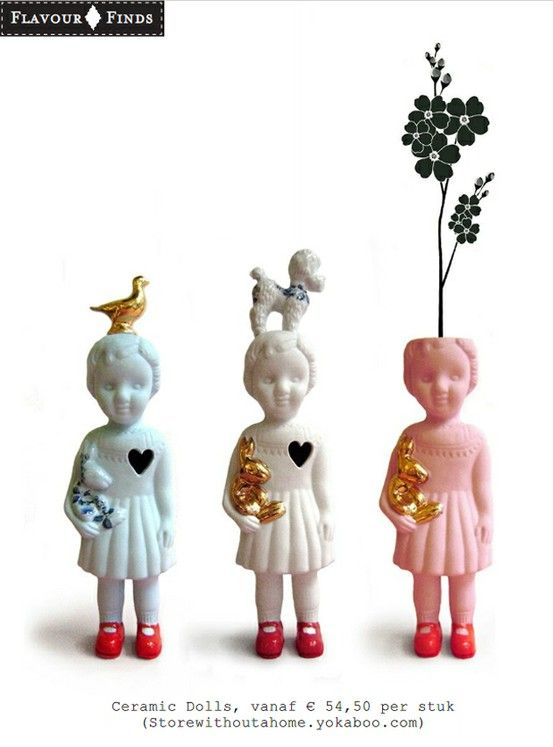 Ceramic dolls by Lammers & Lammers   Sumally