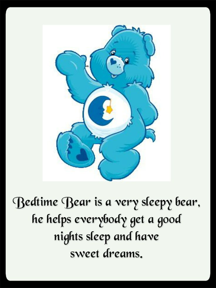 Bedtime Care Bear Symbol Related Keywords - Bedtime Care ...