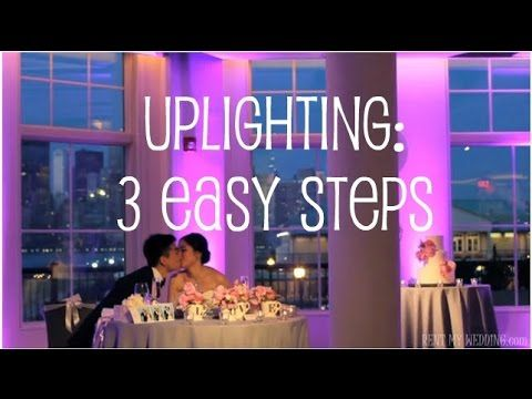 187 best diy uplighting by rentmywedding images on pinterest learn how to setup do it yourself uplighting in 3 easy steps http lighting for weddingswedding solutioingenieria Images