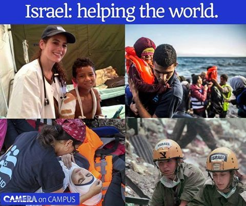 Whether it's an earthquake in Italy or Haiti, a typhoon in the Philippines, a tsunami in Japan, or a tornado in Oklahoma, Israel will always be at the forefront, helping the devastated people recover from a disaster.  THIS IS ISRAEL!