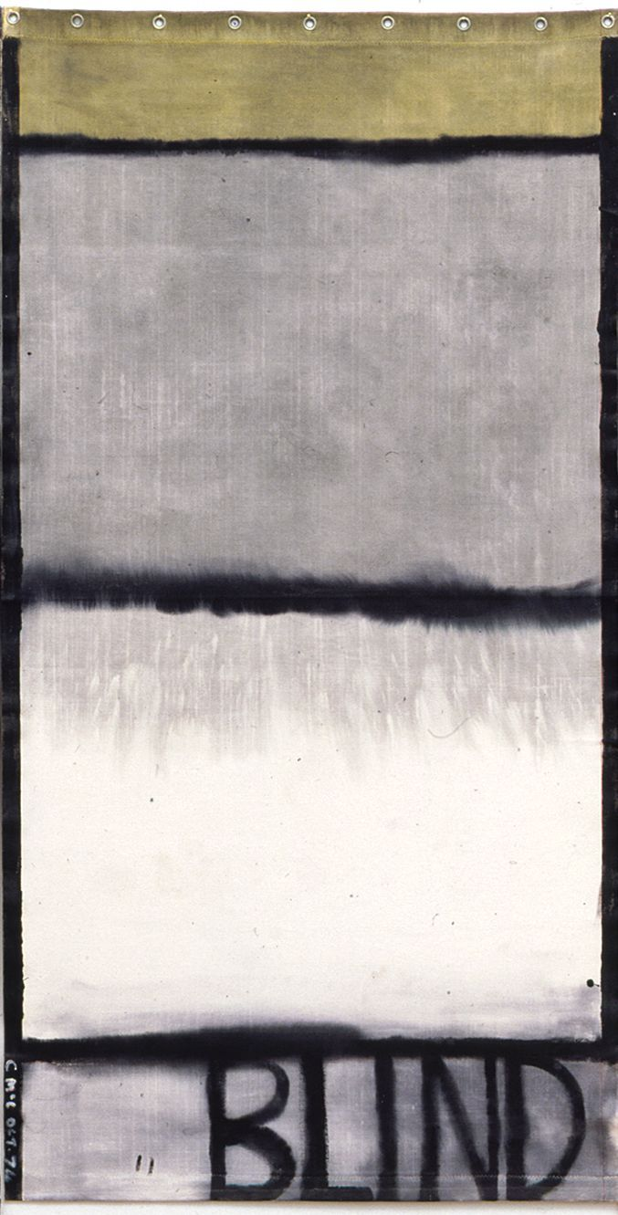 Colin McCahon, Blind II, 1974