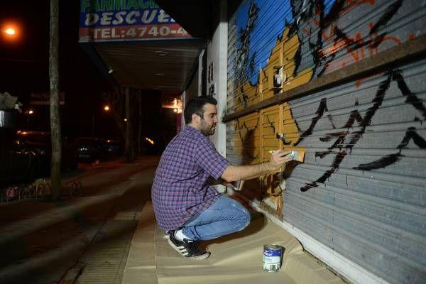 """General Pacheco recibe a los artistas urbanos de """"Pintó Tigre"""""""