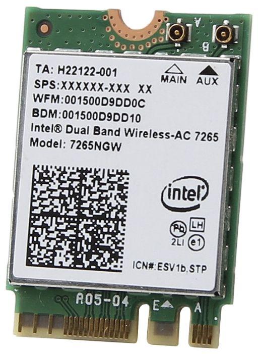 Intel 7265NGW.AC Bluetooth+Wi-Fi-адаптер 1 870 руб. https://market.yandex.ru/product/13192305?nid=55410&track=main_page_endless_snippet