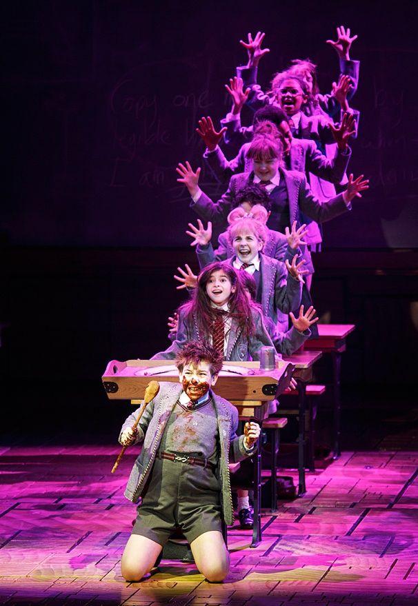 Photo 1 of 24 | Rick Holmes as Mr. Wormwood in Matilda. | Matilda: Show Photos | Broadway.com