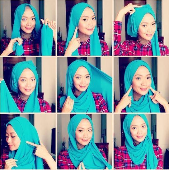 Jersey Hijab Tutorial