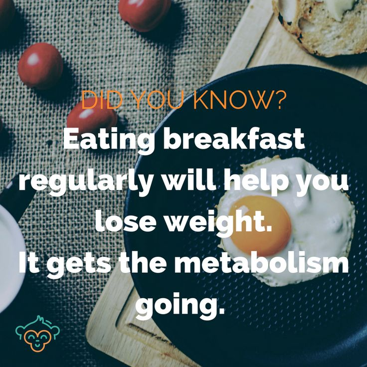 Want to lose weight? Eating a nutritious breakfast every day can help boost your metabolism, making it easier to drop a few extra kilos #breakfast #metabolism #healthyeating #healthylifestyle #didyouknow #didyouknowfacts #LifeBuddi