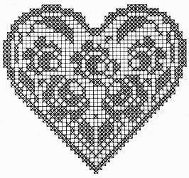 crochet em revista: Corações