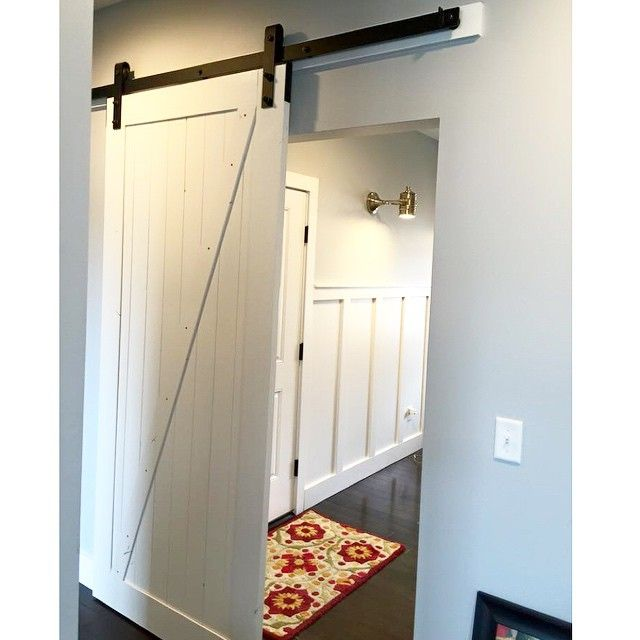 17 best images about laundry and mudroom ideas on pinterest for Barn door ideas for laundry room