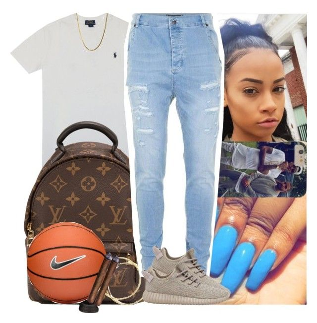 """Untitled #523"" by msixo ❤ liked on Polyvore featuring Polo Ralph Lauren, Louis Vuitton, NIKE and Topman"