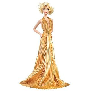 Marilyn Monroe Gold Lamé Gown