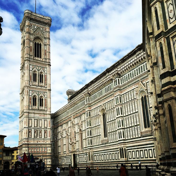Giotto's bell tower Florence Italy