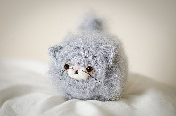 Mystery Kawaii Persian Kitten Cute Amigurumi by artbySusieH