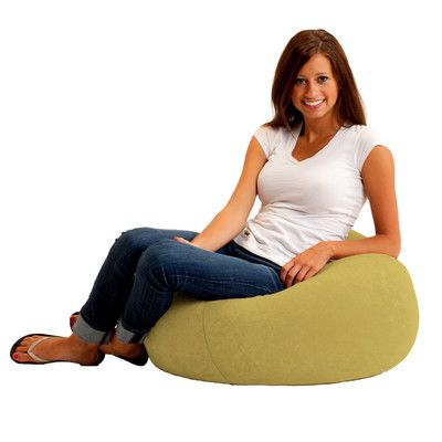Classic Bean Bag Chair Color: Sand Dune - http://delanico.com/bean-bag-chairs/classic-bean-bag-chair-color-sand-dune-519413648/