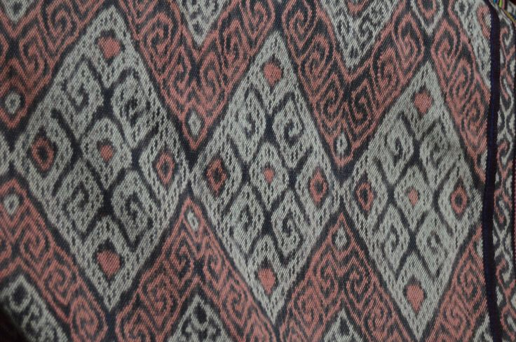 vintage handwoven tenun ikat from Kupang, West Timor, Indonesia