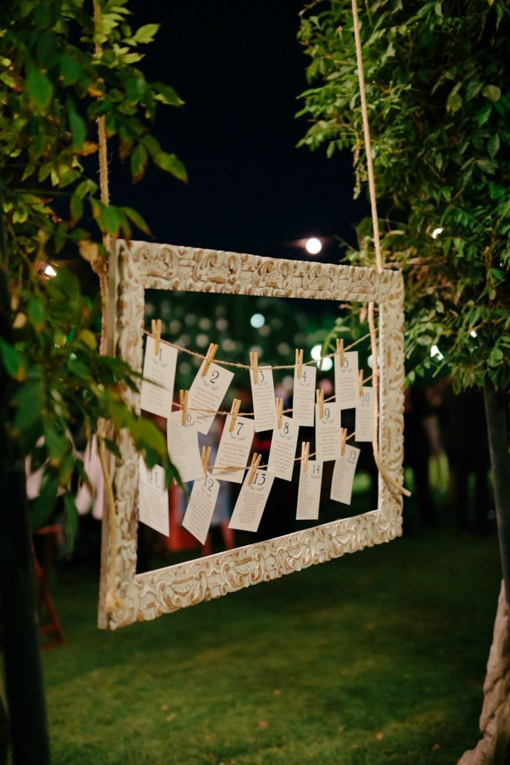 Can just see this hanging from our oak trees at GreenAcre Events.