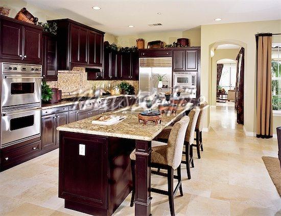 Kitchen Ideas Dark Wood Cabinets best 25+ cherry wood kitchens ideas on pinterest | cherry wood