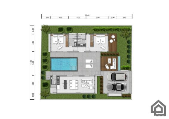2 Bedroom Private Pool Villas For House Plans House Floor Plans
