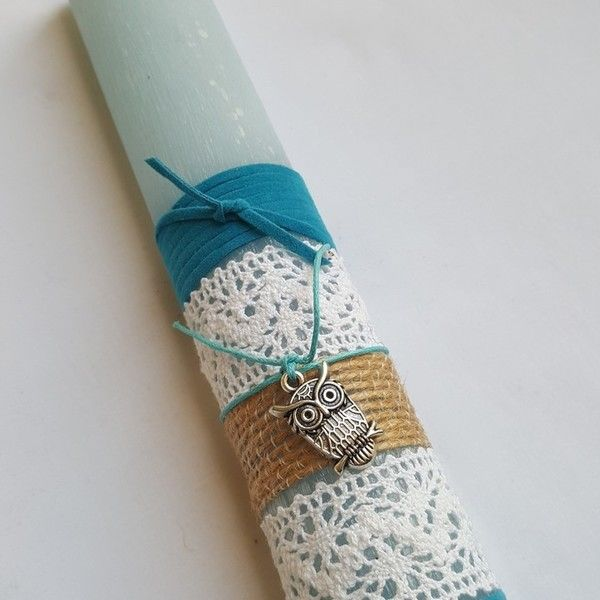 Handmade Easter Candle / Lambada