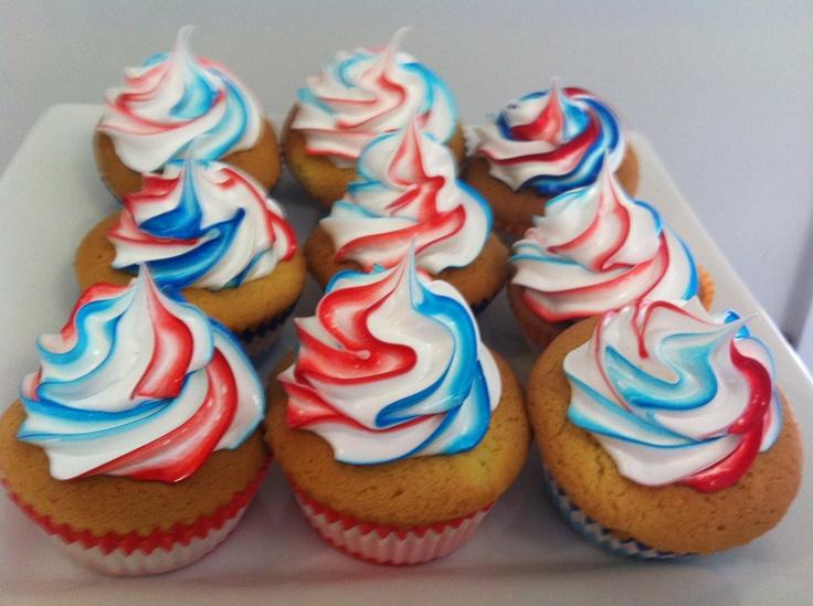 More Australia Day Cupcakes