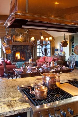 Open Kitchen/Hearth Room Portfolio - Laurie Waterhouse Interiors