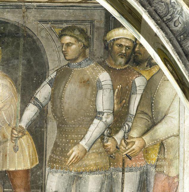 Padua Baptistery 1376 or mid-1370s frescoes: Giusto de' Menabuoi (c. 1320–1391)