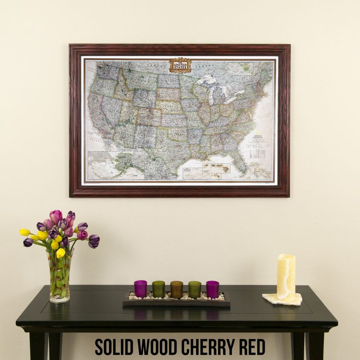 Best Our Products Push Pin Travel Maps Images On Pinterest - Us map picture frame