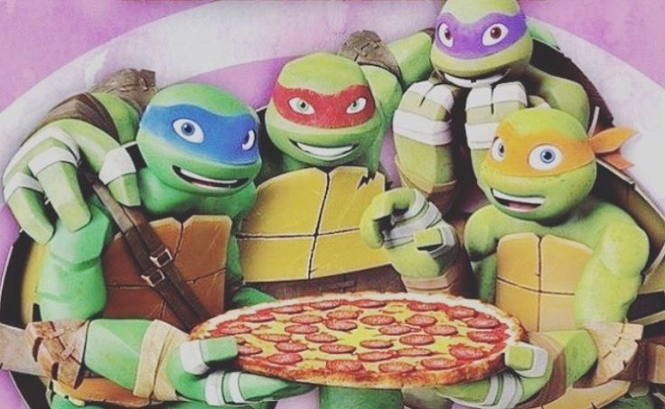 I love whatever this is from TMNT