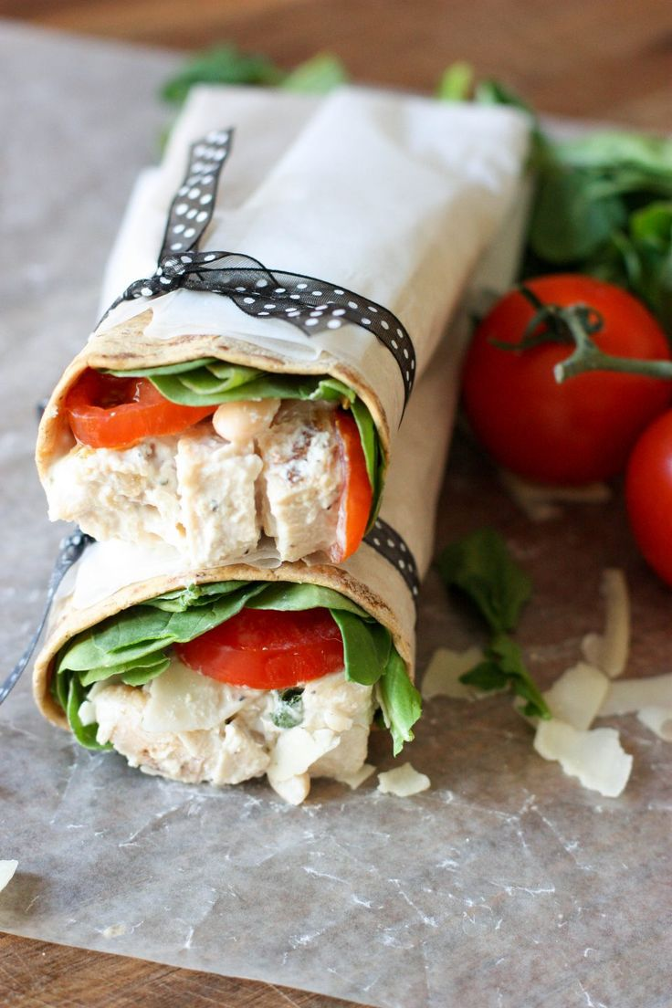 Wraps are the epitome of an easy, on-the-go lunch, and this zesty Tuscan chicken salad wrap is a case and point. It's a balanced meal ready in minutes.