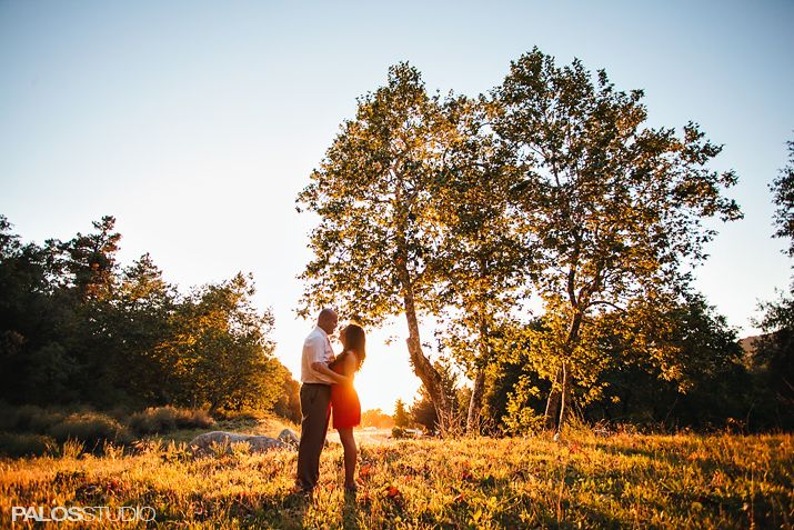 Oak Glen Engagement Session