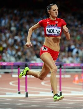 The University of Arizona's Georganne Moline was the youngest athlete in the 400m hurdles in London, and with her fifth place finish showed that she could the future of the sport!