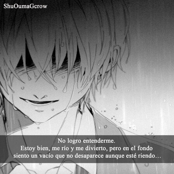 No logro entederme.. #Anime #Frases_anime #frases
