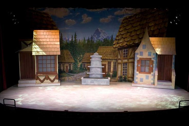 Beauty And The Beast Beauty And The Beast Set Design