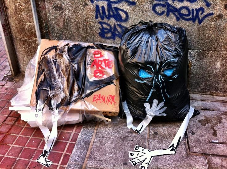 Arte basura: Cities, Arte Basura