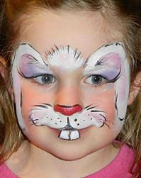 38 best face painting easter images on Pinterest Face paintings