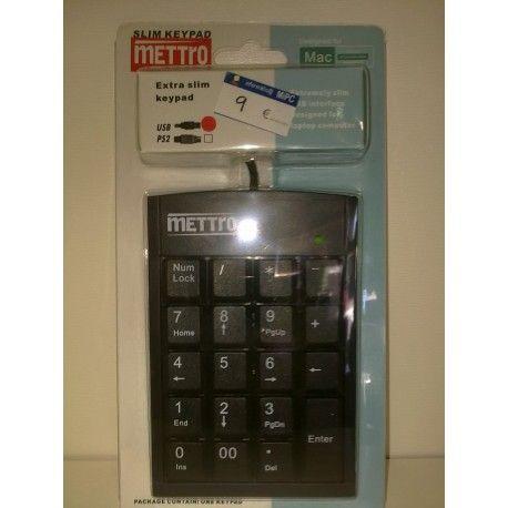 ¡Oportunidad! MINI TECLADO SLIM METTRO USB COLOR NEGRO https://informaticamipc.com/oportunidades/4404-mini-teclado-slim-mettro-usb-color-negro-8422521480451.html
