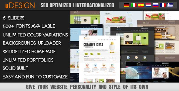 U-Design WordPress Theme