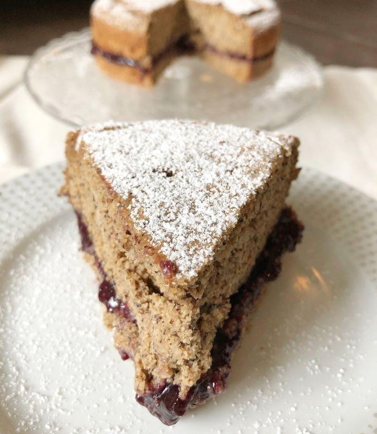Torta di Grano Saraceno Senza Burro Uova e Glutine, un dolce adatto a tutti anche intolleranti e vegani! Un impasto soffice dal gusto rustico e avvolgente!